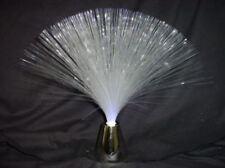 30cm Mini Blue Fibre Optic Lamp - P1