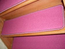 13 = Step  9'' x 36''  Woven Wool Backing Jute carpet  Stair Treads .