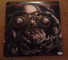 Ian Anderson Signed Jethro Tull LP Stormwatch PSA/DNA #V53590