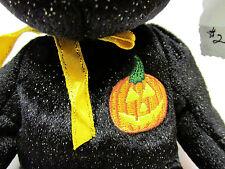 Ty Beanie Baby Haunt Halloween Black Bear 2000 Brand New, MINT w/Mint Tagss