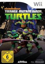 Nickelodeon's Teenage Mutant Ninja Turtles (Nintendo Wii, 2013, DVD-Box)