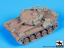 Black Dog 1/72 M24 Chaffee Light Tank Accessories Set WWII (for Hasegawa) T72050