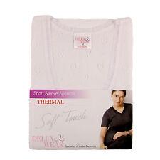 Ladies Thermal Shortsleeve Spencer Vest Ski Wear M,L,XL Cotton & Polyester