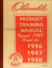 1946-1947-1948 Oldsmobile Shop Manual Supplement Olds Repair Service Book