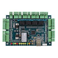 Wiegand TCP/IP Entry Access Control Board Panel Controller for 4 Door 4 Reader Y