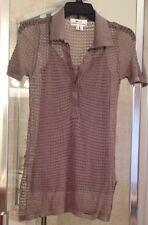 Women's Lacoste + Malandrino Crochet Top & Camisole Tank SIZE XS