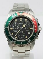 Orologio Sector underlab ste 100 chrono watch diving 100 meters clock diver