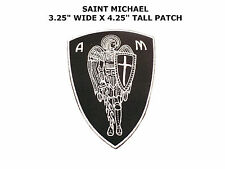 ST. MICHAEL PROTECT US Tactical Army MORALE ISAF SWAT QUALITY PATCH Wings Sword