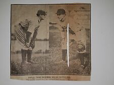 Jimmy Walsh Bill Phyle Toronto Maple Leafs 1907 Baseball Picture RARE!