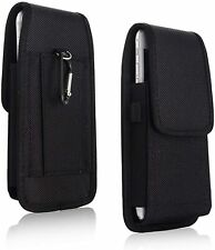 Universal Holster Nylon Belt Hook Pouch Vertical Bag For Huawei Mobile Phones UK