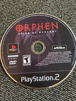 ORPHEN SCION OF SORCERY - PS2 - DISC ONLY - FREE S/H - (B15)