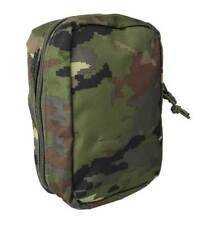 Bolso pouch boscoso pixelado tipo médico molle multiuso camuflaje militar