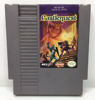 Nintendo NES Castlequest Video Game Cartridge *Authentic/Cleaned/Tested*