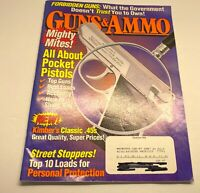 Guns & Ammo Magazine December 1996 Back Issue All About Pocket Pistols