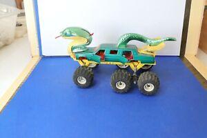 MAJORETTE ancienne série EXTRANIMALS Limousine serpent Cobra