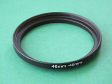 46mm-49mm Stepping Step Up Male-Female Lens Filter Ring Adapter 46mm-49mm
