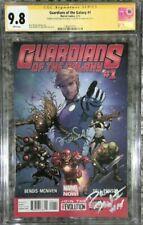 Guardians of the Galaxy #1__CGC 9.8 SS__Signed by Dave Bautista & Zoe Saldana