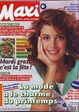 maxi   N° 223 - fevrier 1991 -
