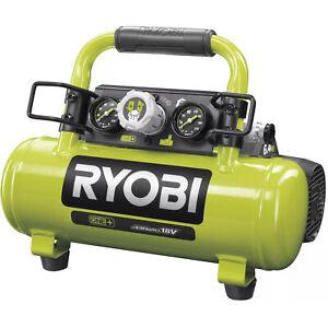 Ryobi Akku-Kompressor R18AC-0, 18Volt, grün