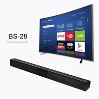 BS-28 Sound Bar Bluetooth Home Theater TV Soundbar 4.0 System Subwoofer Speaker