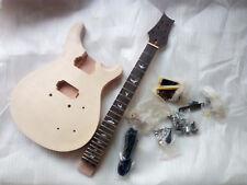 DIY PRS Guitars Mahogany Body Unfinished Electric Guitar Kit