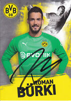 Roman BÜRKI - Schweiz, Borussia Dortmund 2018/19, Original-Autogramm!
