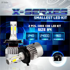 240W 24000LM CREE LED 6000K White Headlight Dual Hi / Lo Kit - H4 HB2 9003 (1)