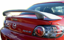 Fits 2004 - 2008 Mazda RX8 Custom Style Spoiler Wing Primer NEW