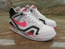 2008 Nike Air Tech Challenge II OG SZ 9 White Hot Lava Andre Agassi 318408-181