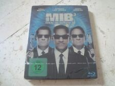 MEN IN BLACK 3 Blu-Ray SteelBook LIMITED Edition WILL SMITH Josh Brolin TL Jones