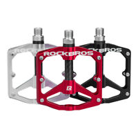 RockBros Bicycle Pedals Road Mountain Bike Pedals Carbon Fiber Sealed Bearings