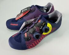 Suplest Edge/3 Pro Road Carbon Bicycle Cycling Shoes Size 42 Navy/Coral