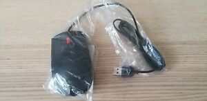 New Lenovo Mouse with Scroll Wheel Wired USB (1PSM50L24505)