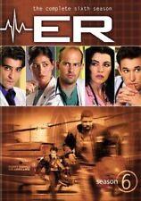 Er Complete Sixth Season 6 PC 0883929161188 DVD Region 1 P H