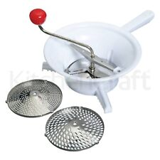 Kitchen Craft Rotary Vegetable Mill with three stainless steel blades
