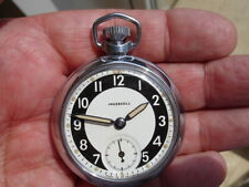 Excellent rebuilt 1965, Ingersoll Pocket Watch.