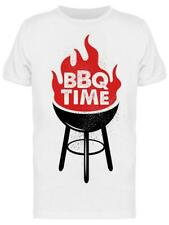 Bbq Time Flame Tee Men's -Image by Shutterstock