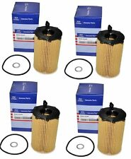 Set of 4 Hyundai/KIA Engine Oil Filter 26320-3CAA0 For Hyundai Kia Azera 10-14