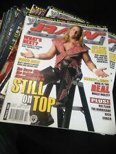 WWF WWE RAW Magazine Feb 2004 - Shawn Michaels + WRESTLEMANIA POSTER