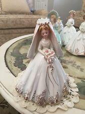Josef Original Porcelain Veil Bride 9 Inch