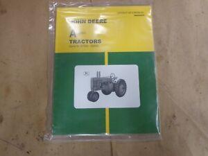 John Deere A Styled Tractor Operators Manual s/n 477000-583999 OMR2000CC