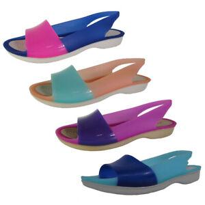 Crocs Womens ColorBlock Flat Shoes