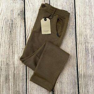 NWT green ZARA BOYS COLLECTION kids pants size 9/10
