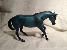 Limited Edition Peter Stone Model Horse, Blue Mint