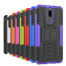 For Huawei Nova 2i Heavy Duty TPU Shockproof Hybrid Kickstand Tough Case Cover