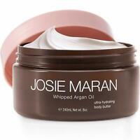 Josie Maran Whipped Argan Oil Ultra-Hydrating Body Butter 8oz Unsealed