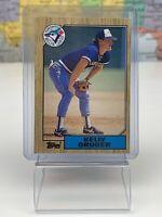 SHIPS SAME DAY Topps 1980 Baseball Card NM Kelly Gruber #458 Toronto Blue Jays