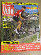 TOP VELO N°150: SEPTEMBRE 2009: SPECIAL CHRONO - BIANCHI INFINITO - LAPIERRE 700
