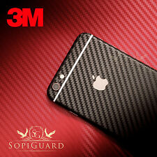 SopiGuard 3M 1080 Carbon Fiber Vinyl Skin Full Body Apple iPhone 6 Plus 5.5