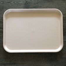 Vintage Cambro Serving Tray 12 x 16 Camtray Cafeteria Restaurant Salmon Peach